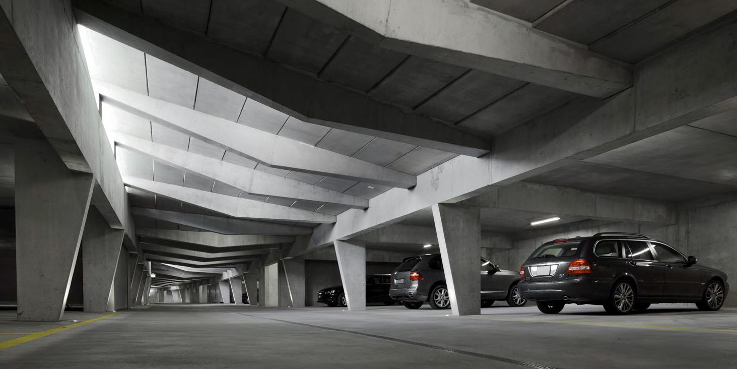 طراحی پارکینگ خودروهای سبک