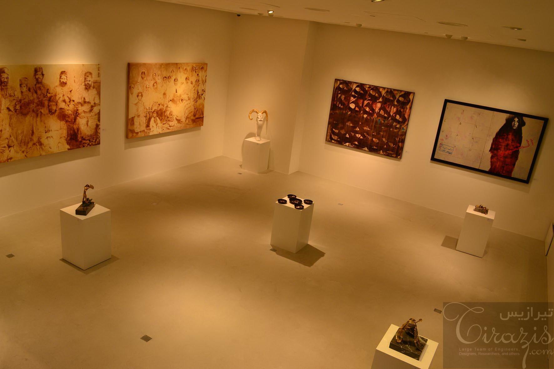 دانلود مطالعات نمایشگاه نقاشی