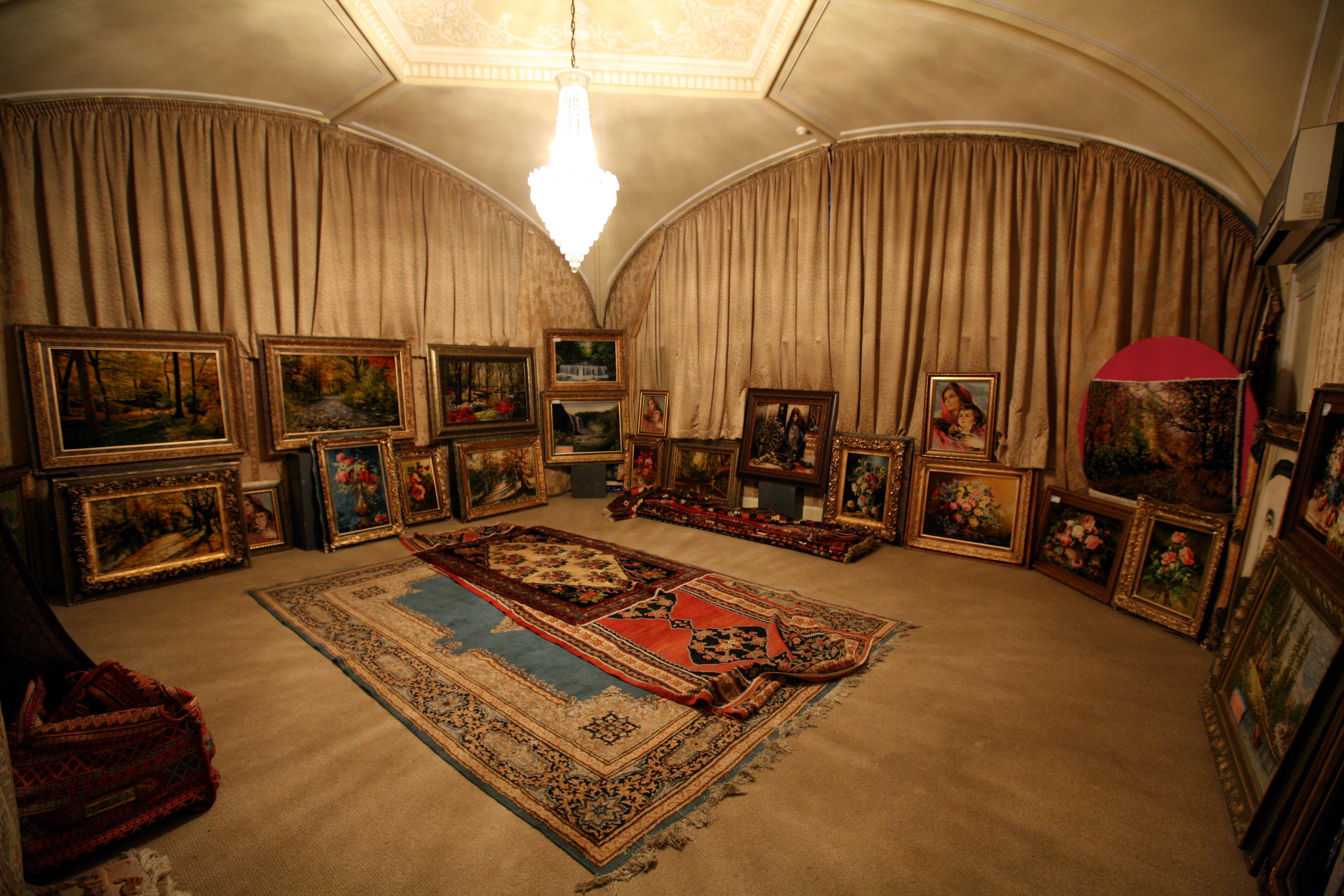 پروژه پاورپوینت موزه فرش ایران
