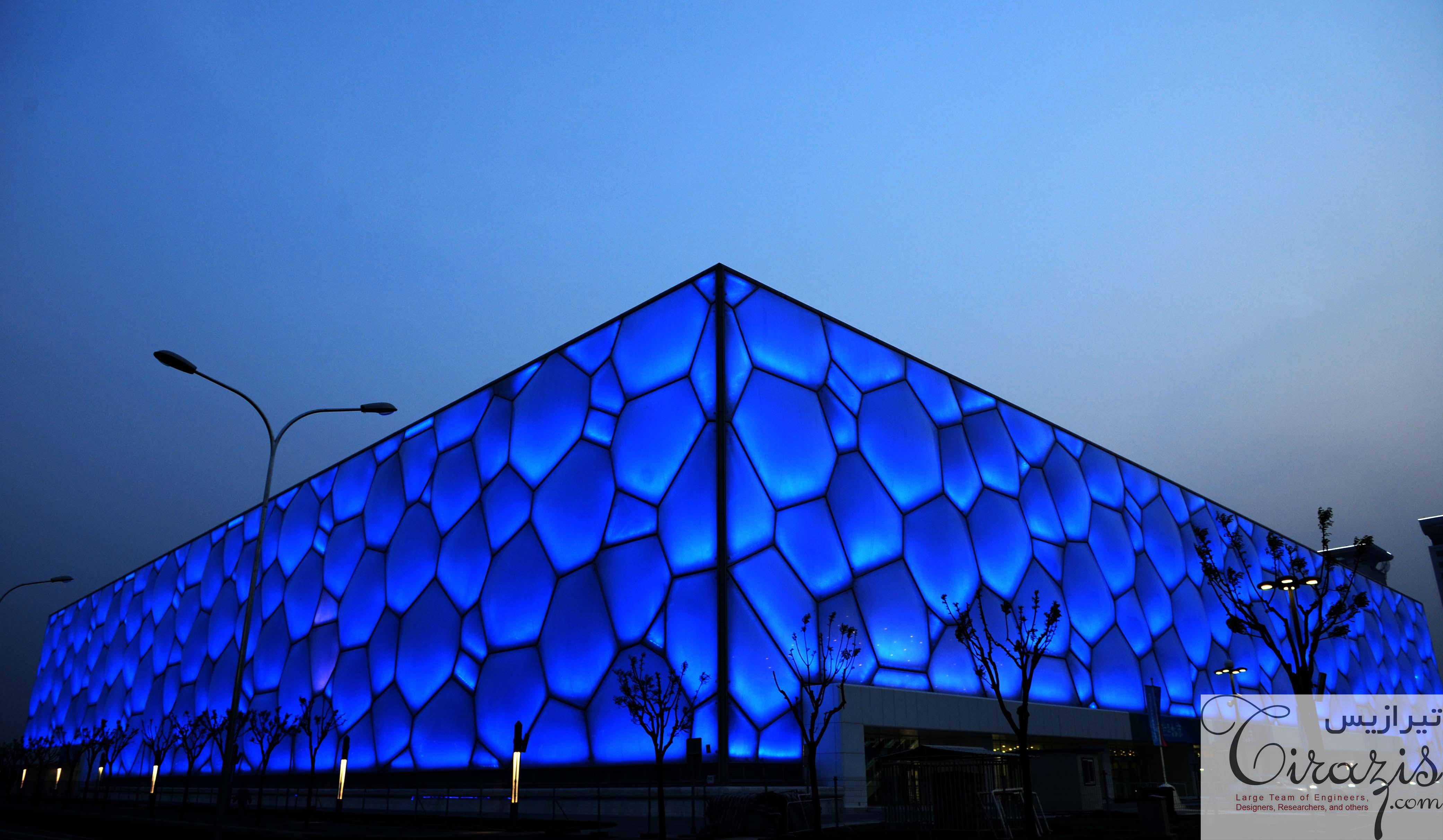 پاورپوینت استادیوم ورزش های آبی المپیک پکن