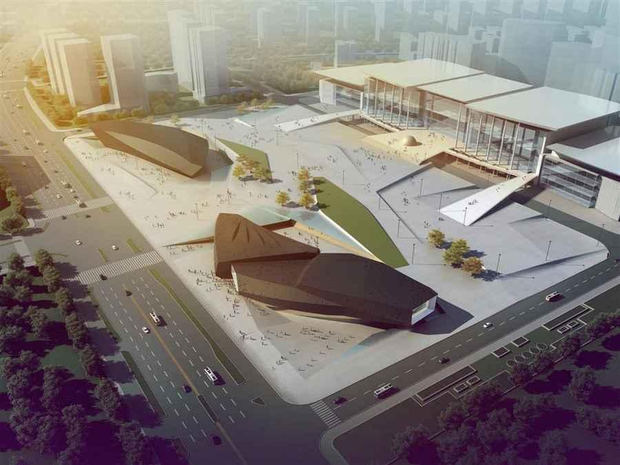 دانلود رایگان پروژه اتوکد مرکز فرهنگی